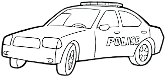 Police Coloring Page Police Coloring Pages People Kindergarten
