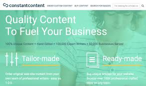 websites to paid lance writing work updated  constant content