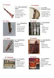 Anda yang sekarang berdomisili di wilayah atau asalnya dari suku daerah tertentu pasti memiliki alat musik zaman dahulu. Alat Musik Tradisional Di Indonesia Beserta Nama Daerahnya