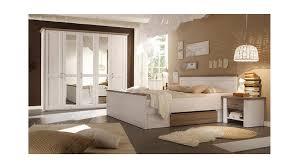 Schlafzimmer Set Luca Pinie Weiß Und Trüffel 4 Teilig