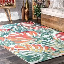 tropical rugs indoor outdoor area rugs