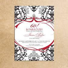th birthday party invitations com 60th birthday party invitations how to make your own birthday invitations using word 6