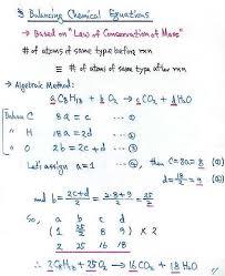balance equations math b algebraic method example balancing mathematical equations calculator