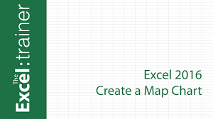 Add Map Chart To Excel 2016 Excel 2016 Create A Map Chart