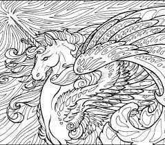 unicorn printable coloring pages sheet get this free wolf realistic