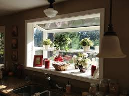 Garden Window For Kitchen Kitchen Greenhouse Window House Trends And Pictures Alluring