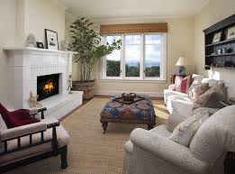 santa barbara refacing a brick with tufted area rugs living room traditional and crown molding lea