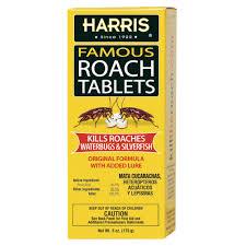 Harris 6 Oz Famous Roach Tablets Hrt 6 The Home Depot