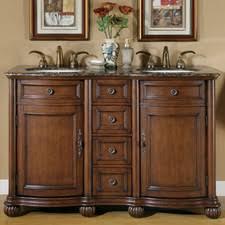 55 inch double sink bathroom vanity: quick view brown adela quot double bathroom vanity