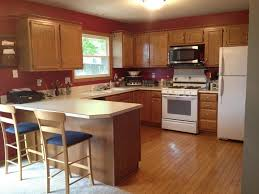 kitchen color ideas red. Kitchen Color Ideas Red White Island Stainless Steel Knobs Vertical Handling Double Sides Towel Bar R
