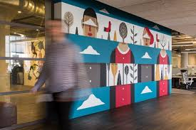 agostino iacurci on wall art for office building with mailchimp commissions atlanta nonprofit living walls to fill its new