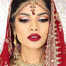 best indian bridal makeup tutorials with step by step instructions makeup