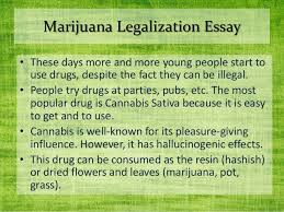 marijuana should not be legalized essay % original research paper on online banking security