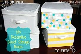 decorative closet storage boxes containers best