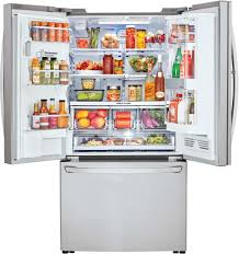 Largest Capacity Refrigerator Lg Lfxc24796 36 Inch Counter Depth French Door Refrigerator With