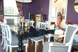 purple dining room set chair