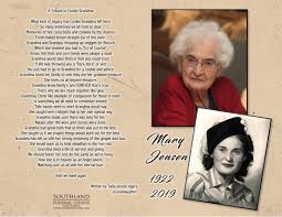 Mary Jensen - 1922 - 2019 - Southland Funeral Chapel - Taber, Alberta