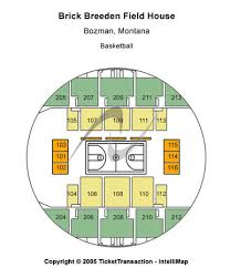 Brick Breeden Fieldhouse Seating Chart Brick Breeden Fieldhouse Tickets In Bozeman Montana Seating