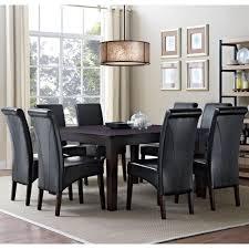 Simpli Home Avalon 9-Piece Natural Dining Set-AXCDS9-AVL-NL - The ...