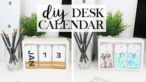 Diy Desk Calendar Get Your Sh T Together 2017 Youtube