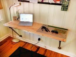 floating desk diy innovative diy floating corner desk