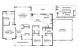 house plans with large kitchens one story house plans with large kitchens house plans large ranch