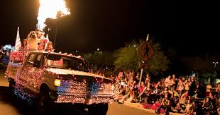 Las Cruces Light Parade Route July In Las Cruces Its Electric Visit Las Cruces New