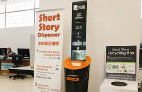 Short Edition Vending Machine New HKBU Library's Short Story Dispenser Is Basically A Vending Machine