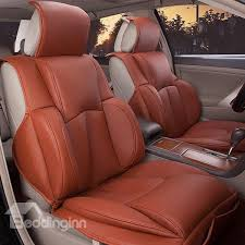 53 luxurious designed for comfort pu leatherette universal car seat covers