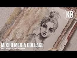 A FREE Mixed Media Collage Lesson with Renee Mueller - Part 2 - YouTube