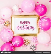 Iictures Happy Birthday Pink Balloons Pink Balloons