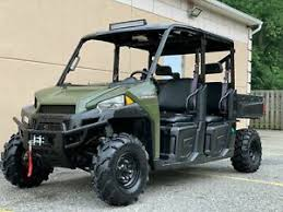 Details About Polaris Ranger Hd1000 Crew 6 Pass Brand New Winch Roof Led Light Diesel