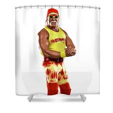 Choose your favorite hulk hogan designs and purchase them as wall art, home decor, phone cases, tote bags, and more! Hulk Hogan Shower Curtain For Sale By Sebastian Plat