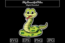 Css & svg waves animation. Snake Cartoon Illustration Graphic By Mybeautifulfiles Creative Fabrica In 2020 Cartoon Illustration Snake Illustration Illustration