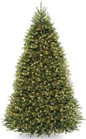 Dual Led Light Christmas Tree National Tree 9 Foot Dunhill Fir Tree With 900 Dual Led Lights And 9 Function Footswitch Hinged Duh 300d 90