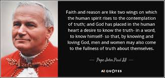 Quotes About Faith Custom TOP 48 FAITH AND REASON QUOTES AZ Quotes