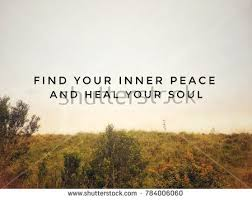 Finding Inner Peace Quotes Inspiration Motivational Inspirational Quotes Find Your Inner Stock Photo Edit