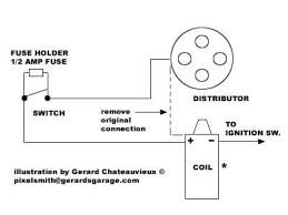 kill switch if the car is negative ground battery hook the negative side of the coil to the distributor killswitch