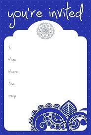 Plain Invitation Card Amittripathi Me