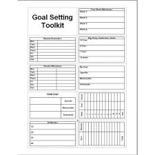 Daily Goal Tracker Goals Journal Template Under Fontanacountryinn Com