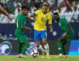 25 صورة تلخص كرنفال مباراة السعودية ضد البرازيل فى الدورة الرباعية - اليوم  السابع