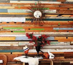 salvaged wood wall diy wood wall