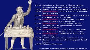 Programma del III Congresso Italiano di Storia della Magia di Livorno –  Prestigiazione.it