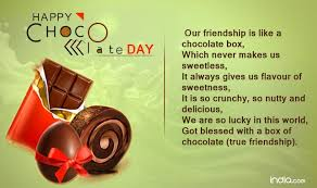 chocolate day quotes for friends. Whatsapp Messages Our Friendship Is Like Chocolate Box Which Never Makes Us Sweetless It Always Gives Flavour Of Sweetness So Crunchy Throughout Day Quotes For Friends Indiacom