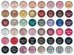 Gelish Nail Color Chart I Must Print For My Display In 2019