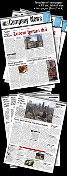 Old Newspaper Template Photoshop