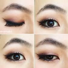 smokey monolid makeup