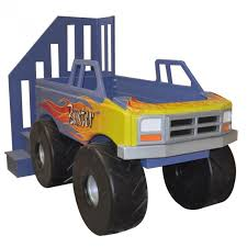 monster truck sheets twin
