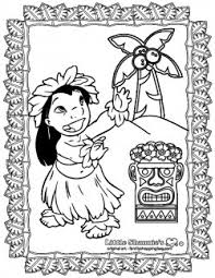 Color Page 3 Lilo And Stitch Lilo And Stitch Coloring Pages Free