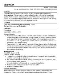 Cv Samples For Engineering Students Chemical Engineers Cv Examples Engineering Cvs Livecareer